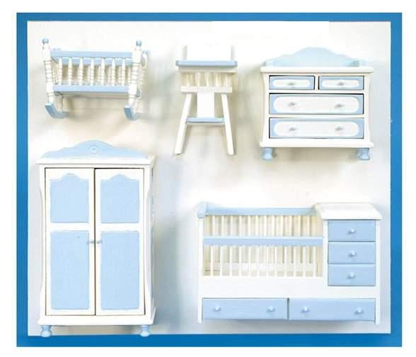 Al10883 - Cameretta per bambini azzurro