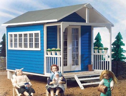Sa1300 - Casa de verano en kit