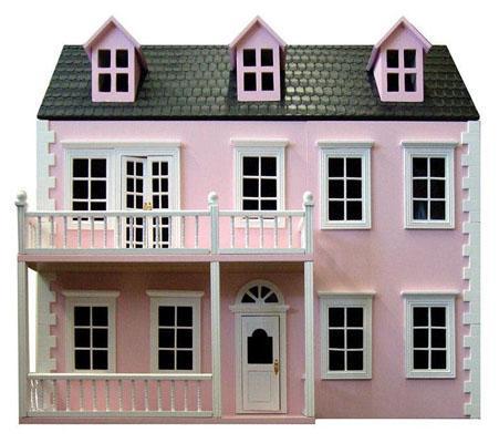 Dh027PP - Casa de muñecas Glenside Rosa