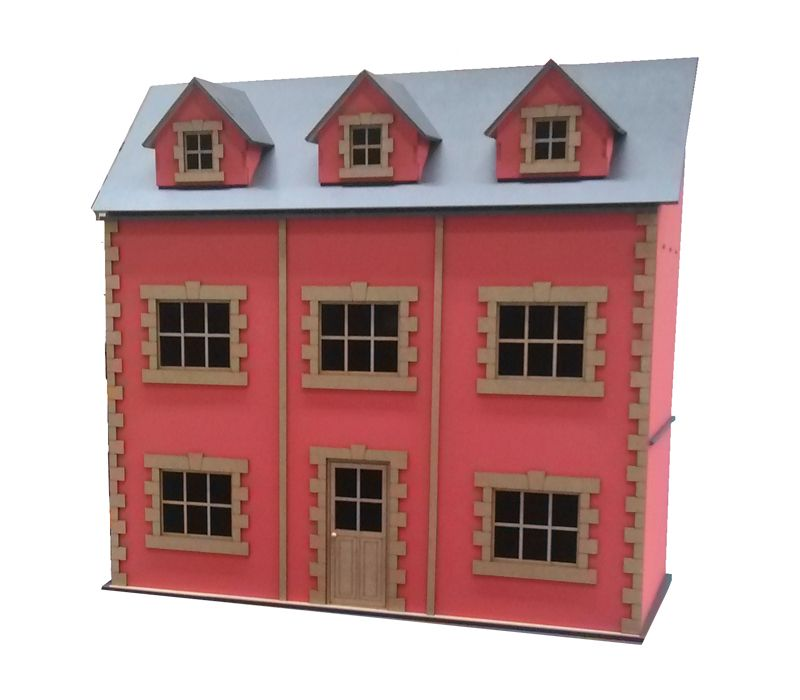 Casa de muñecas Estocolmo de facil montaje