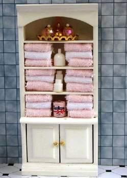 Tienda de casitas mb0223 estanter a toallas rosas for Estanteria bano toallas