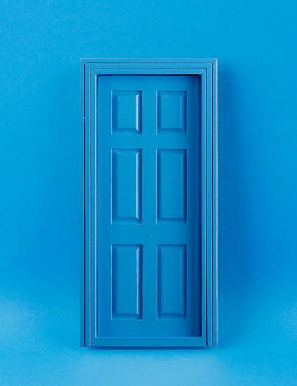 Em6007b - Puerta azul