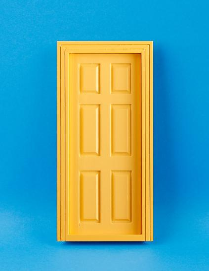 Em6007y - Yellow door & Eurominiatures - Em6007y - Yellow door