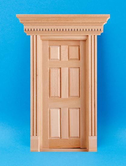 Case delle bambole em6014 porta d ingresso for Porta d ingresso coloniale olandese