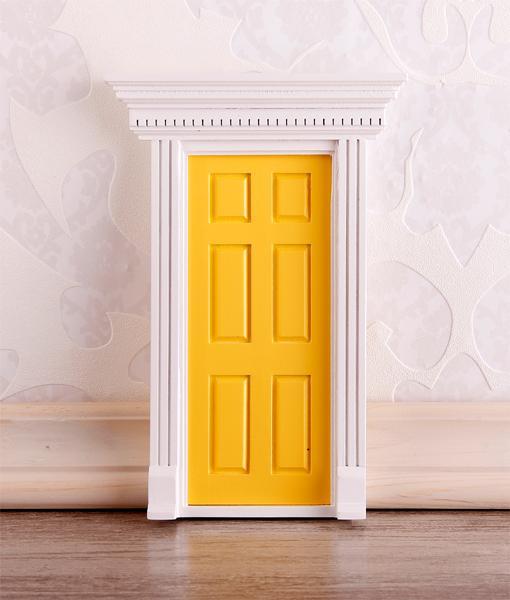 Cp0066 - Yellow entrance door