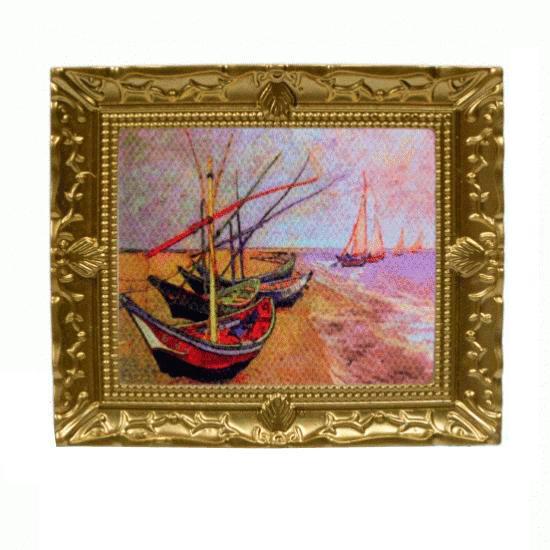 Tc0512 - Quadro barche