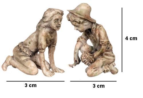 Tc0514 - Mini figuras para jardin