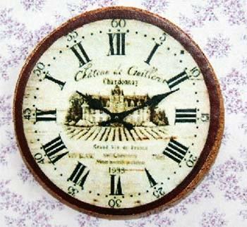Tc0918 - Reloj de corcho