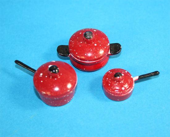 Tc1311 - Bateria roja de cocina