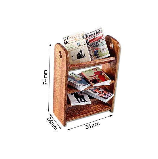 Tc1656 - Etagère avec magazines