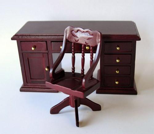Mb0487 - Bureau avec chaise