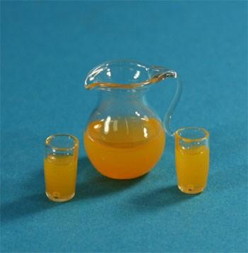 Tc1707 - Jarra de zumo con dos vasos