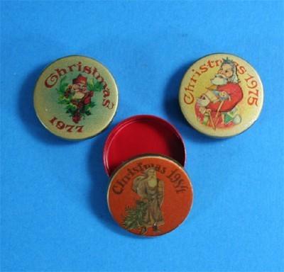 Nv0061 - Drei Weihnachtsdosen