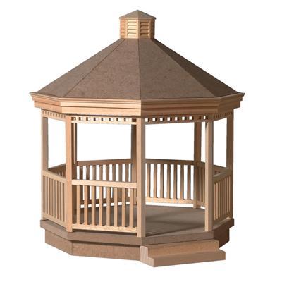 Sa6045 - Holzpavillon im Bausatz