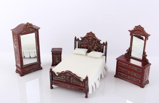 Sl5167 - Chambre à coucher de collection