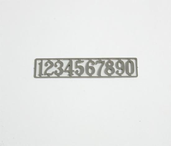 Tc0536 - Numeros plateados