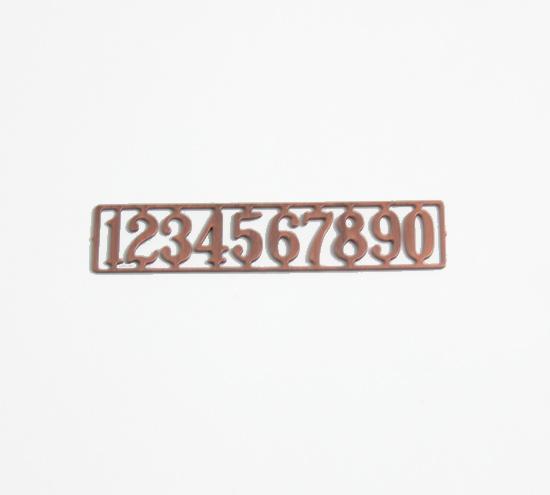 Tc0693 - Numeros cobre