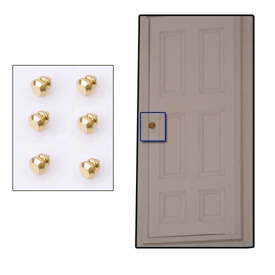 Tc1251 - 6 Pomos dorados