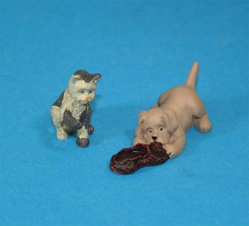 Tc1805 - Perro y gato