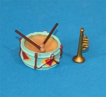 Tc1807 - Tambor y trompeta