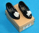 Tc1818 - Zapatos negro de senora