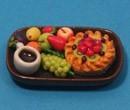 Sm3104 - Bandeja de frutas y pastel n4