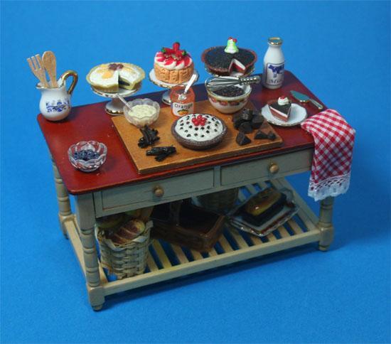 Re17271B - Mesa con tartas