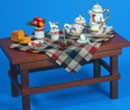 Re17480 - Table with breakfast