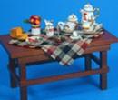 Re17480 - Mesa con desayuno