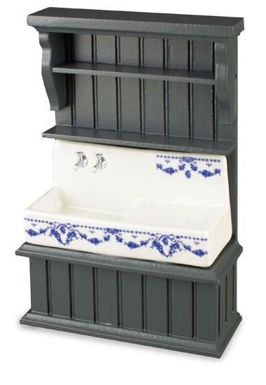 Tienda de casitas re18412 mueble azul con fregadero - Fregadero con mueble ...