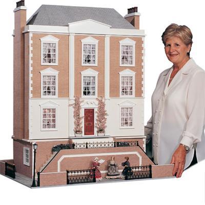 Case delle bambole sa0709 casa montgomery in kit for Seminterrato solo piani di casa