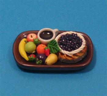 Sm3103 - Bandeja de frutas y pastel n3