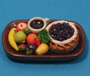 Sm3103 - Tray with fruit and cake n3