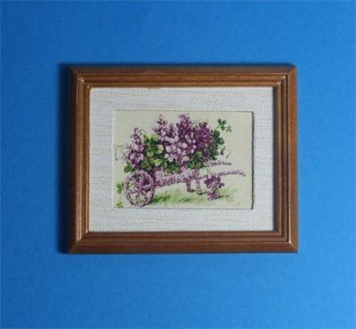 Tc1836 - Cuadro flores lilas