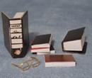 Tc1854 - Conjunto de libros y gafas