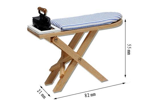 Mb0148 - Tabla de planchar y plancha