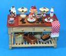 Re17271 - Table avec tartes