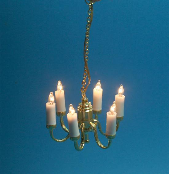 Sl3312 - Lampara 6 velas