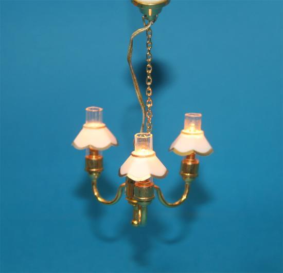 Sl3347 - Lampada 3 paralumi