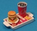 Sm3602 - Bandeja con hamburguesa