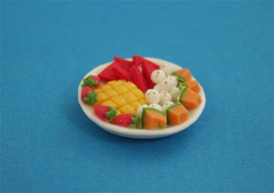 Sm5053 - Plato con fruta