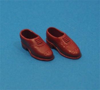Tc1883 - Chaussures marron pour hommes