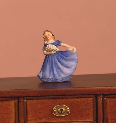 Tc1914 - Figura decorativa mujer