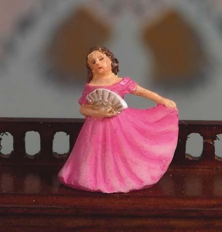 Tc1915 - Figura decorativa mujer