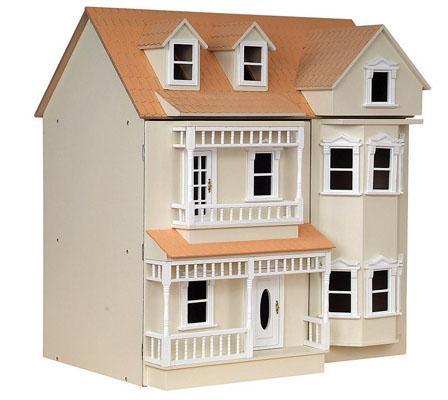 Dh024P - Haus Exmouth cremefarben