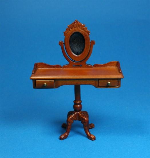 Sl5144 - Tocador con espejo marrón