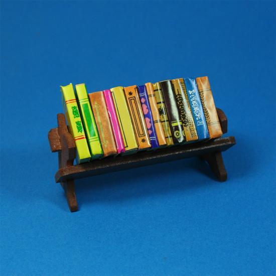 Tc1980 - Estantería con libros