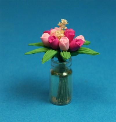 Tc2001 - Jarrón con flores