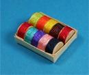 Tc0187 - Schachtel mit Bändern