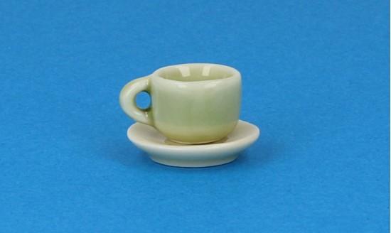 Cw0109 - Tasse et assiette